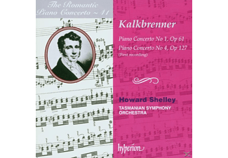 Friedrich Wilhelm Kalkbrenner, H./Tasmanian Symph.O Shelley - Romantic Piano Concerto Vol.41 - (CD)