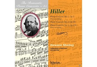 Shelley, Howard/tasmanian So Shelley - Romantic Piano Concerto Vol.45 - (CD)