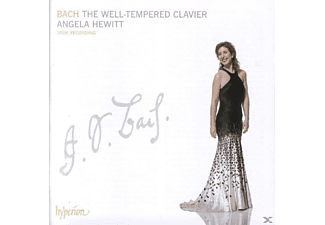 Angela Hewitt - THE WELL-TEMPERED CLAVIER - (CD)