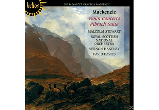 Royal Scottish National Orchestra, Handley/Davies/Stewart/Royal Scot.National Orch. - Violinkonzert/Pibroch Suite - (CD)