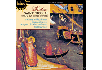 Matthew Best, Rolfe Johnson, Corydon Singers - Saint Nicolas/Hymn to St Cecilia - (CD)