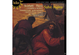 The Bowman/york/king/king's Consort - Salve Regina,Kantaten & Motetten - (CD)