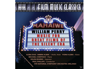 Phillips & Rte National Symphony, Phillips/Rte National Symphony Orchestra - Music for Great Films of the Silent Era - (CD)