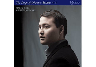 BODE,SIMON & JOHNSON,GRAHAM - The Songs Of Johannes Brahms Vol.3 - (CD)