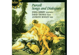 Kirkby,E./Thomas,D./Rooley,A. - Songs & Dialogues - (CD)