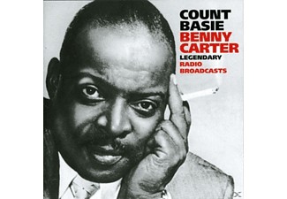Count Basie, Basie, Count / Carter, Benny - Legendary Radio Broadcasts - (CD)