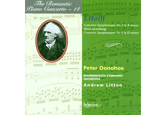 Peter Donohoe, Peter/boso Donohoe - Romantic Piano Concerto Vol.14 - (CD)