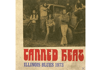 Canned Heat - Illinois Blues 1973 - (CD)
