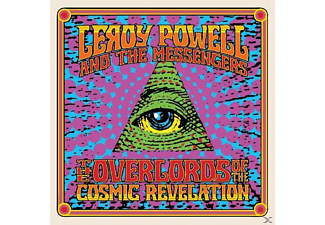 POWELL,LEROY & MESSENGERS,THE - Overlords Of Cosmic Revelation [CD]