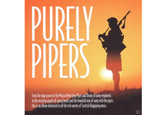 Various (scottish Pipes), V/A Scottish Pipes - Purely Pipers - (CD)