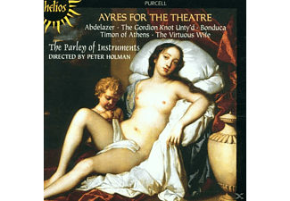 The Parley Of Instruments, Peter/Paoi Holman - Ayres For The Theatre - (CD)