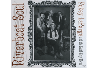 Pokey & The South City Thr Lafarge, Pokey/the South City Three Lafarge - Riverboat Soul - (CD)