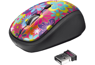 TRUST Yvi Wireless Mouse Flower power - (20250)