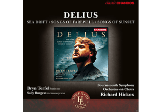 Sally Burgess \ Bryn Terfel \ Waynflete Singers \ Southern Voices \ Bournemouth Symphony Orchestra And Chorus \ Richard Hickox - Sea Drift/Songs Of Farewell/Songs Of Sunset - (CD)