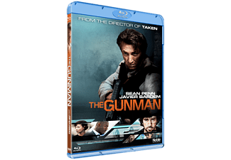 The Gunman Thriller Blu-ray