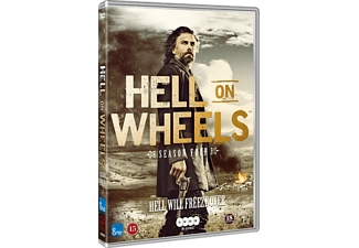 Hell On Wheels - Säsong 4 Western DVD