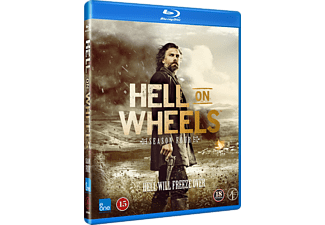 Hell On Wheels - säsong 4 Western Blu-ray