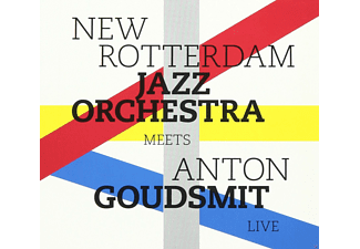 The New Rotterdam Jazz Orchestra - Meets Anton Goudsmit Live [CD]