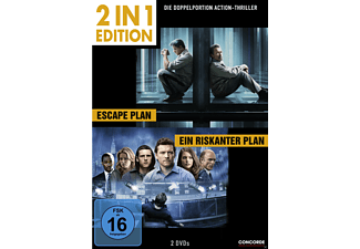 2 in 1 Edition: Escape Plan / Ein riskanter Plan - (DVD)