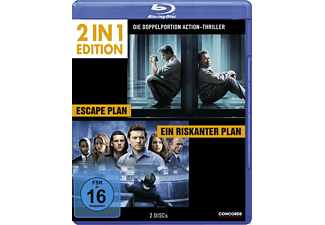 2 in 1 Edition: Escape Plan / Ein riskanter Plan - (Blu-ray)