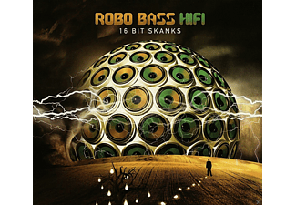 Robo Bass Hifi - 16 Bit Skanks [CD]