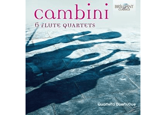 Quartetto Due Piu Due - 6 Quartets For Flute [CD]