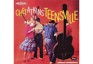 Chet Atkins - Teensville+Stringin' Along With Chet Atkins [CD]