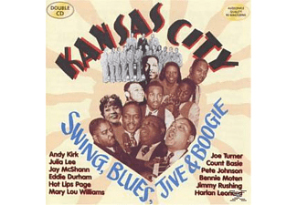 VARIOUS - Kansas City Swing, Blues, Jive & Boogie - (CD)