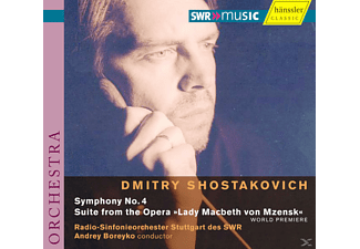 Rsos - SINFONIE 4/SUITE LADY MACBETH - (CD)
