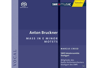 Creed & Swr Vokalensemble Stuttgart - Messe E-Moll/Motetten - (CD)