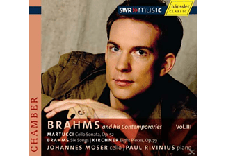 Johannes Moser - Brahms and His Contemporaries, Vol. 3 - (CD)