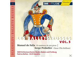 Swr Sinfonieorchester, Kirill Karabits, Fabrice Bollon - Les Ballets Russes Vol.5 - (CD)