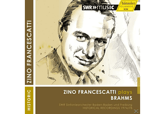 Francescatti/Bour/SWR SO - Francescatti plays Brahms - (CD)