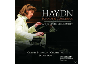 Anne-marie Mcdermott - Piano Sonatas And Concertos Of Haydn - (CD)