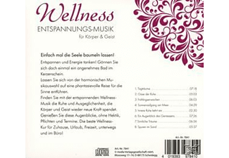 Various - WELLNESS - ENTPANNUNGS-MUSIK FÜR SEELE & SINNE - (CD)