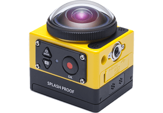 KODAK Pixpro SP360 Explorer Action Cam, WLAN, Near Field Communication, Schwarz/Gelb