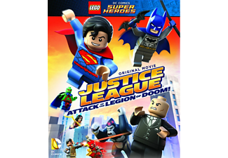 Lego: Justice League VS Legion of Doom Animation / Tecknat DVD