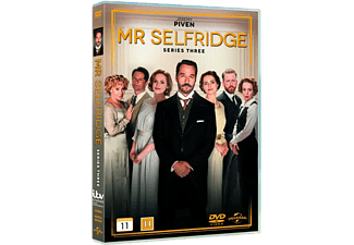 Mr. Selfridge S3 Drama DVD