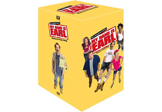 My Name is Earl: Complete Box S1-4 Komedi DVD