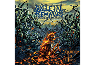 Skeletal Remains - Condemned To Misery (Black Vinyl) [EP (analog)]