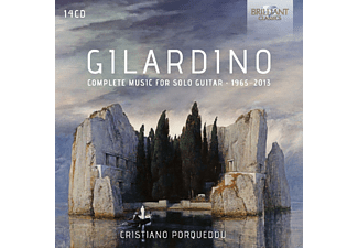 Porqueddu Cristiano - Complete Music For Solo Guitar 1965-2013 [CD]