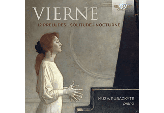 Muza Rubackyte - Piano Music-12 Preludes/Solitude/Nocturne [CD]
