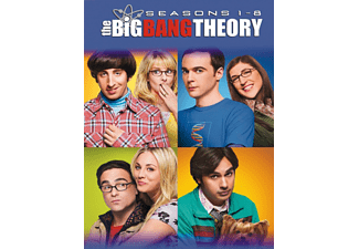 Big Bang Theory S1-8 Komedi DVD