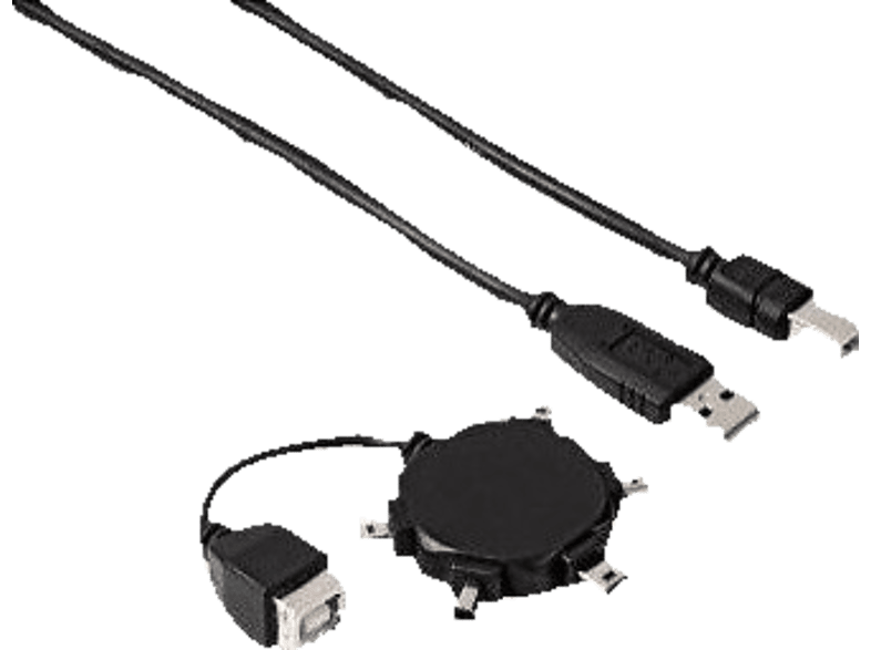HAMA Star Mini USB 2.0 Adapter Kit - (00039733) τηλεφωνία   πλοήγηση   offline αξεσουάρ κινητής laptop  tablet  computing  περιφ