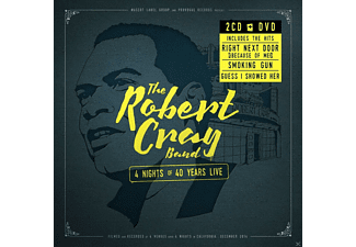 Robert Cray - 4 Nights Of 40 Years Live (2cd+Dvd) - (CD + DVD)