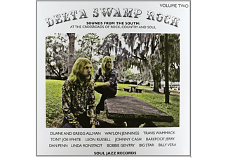VARIOUS - Delta Swamp Rock - Sounds From The South: At The Crossroads Of Rock, Country And Soul Vol.2 - (Vinyl)
