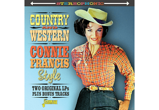 Connie Francis - Country & Western Connie [CD]