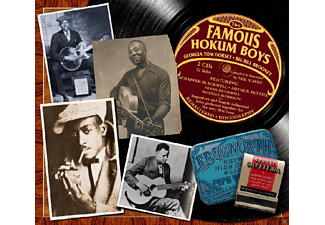 VARIOUS - Famous Hokum Boys - (CD)