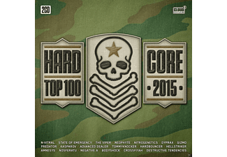 VARIOUS - Hardcore Top 100-2015 - (CD)