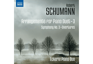 Eckerle Piano Duo - ARRANGEMENTS FOR PIANO DUET VOL.3 - (CD)